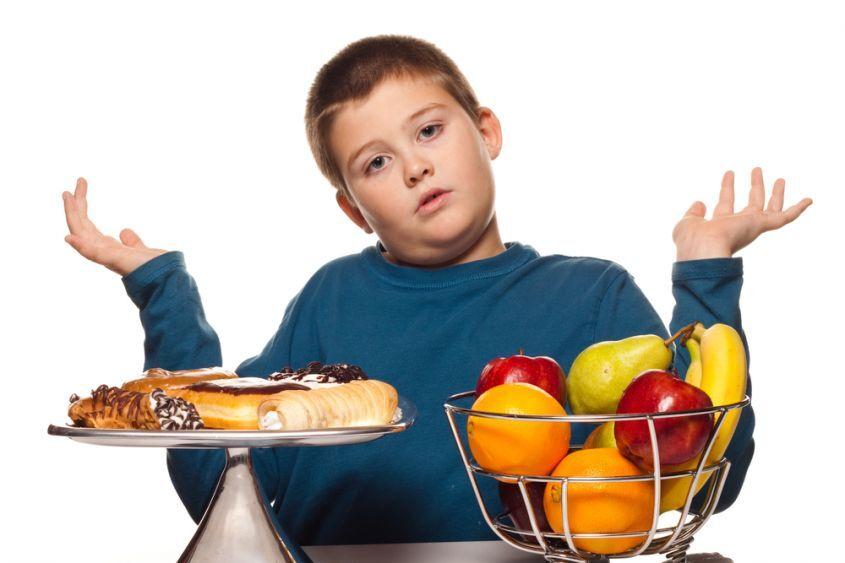 perdere peso bambini