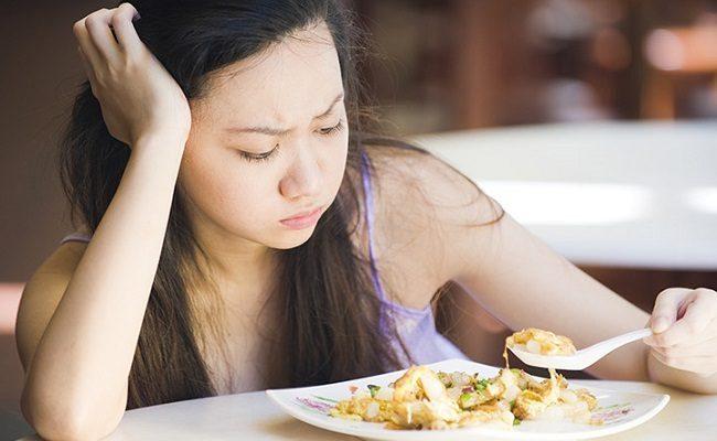 perdita di appetito e nausea