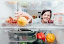 Frutta e verdura in frigorifero