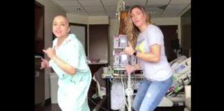 malata di cancro balla