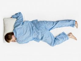 dormire sulla pancia