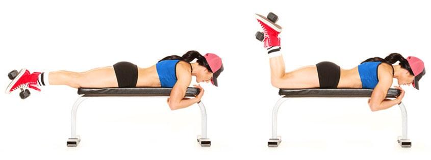 Ecco come eseguire lo stretching dei muscoli ischiocrurali per combattere il mal di schiena.