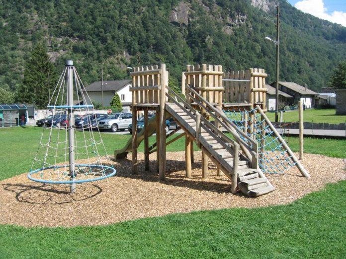 parco giochi bambino