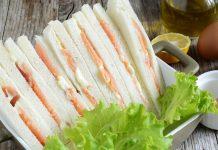 tramezzini salmone maionese