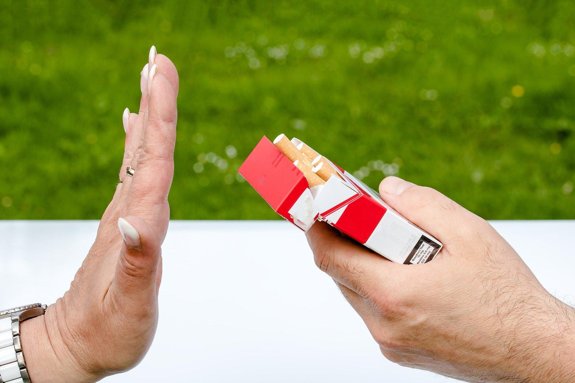 Smettere di fumare respirando
